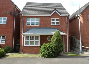 Thumbnail 3 bed detached house for sale in Kay Close, Coalville