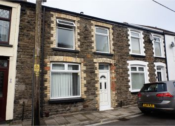 Thumbnail 2 bed terraced house for sale in Lee Street, Pontypridd