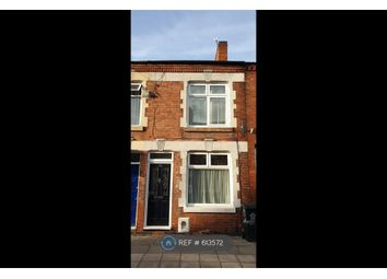 Thumbnail 2 bedroom terraced house to rent in Lothair Road, Leicester