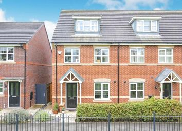 3 bed end terrace house for sale in Wallbrook Avenue, Macclesfield, Cheshire SK10