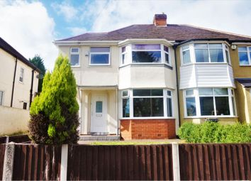 Thumbnail 3 bed semi-detached house for sale in Edgemond Avenue, Birmingham
