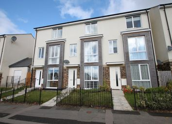 Thumbnail 4 bed terraced house for sale in Lulworth Drive, Plymouth
