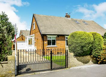 Thumbnail 2 bed semi-detached bungalow for sale in Lydgate Drive, Lepton, Huddersfield