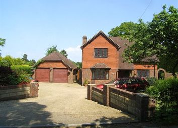 Thumbnail 4 bed detached house to rent in Common Road, Ightham, Sevenoaks