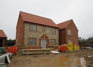 Thumbnail 3 bed detached house for sale in Hall Close, Bodham, Holt