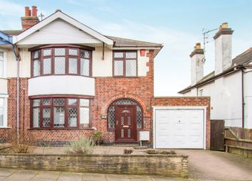 Thumbnail 3 bed semi-detached house for sale in Trueway Road, Leicester