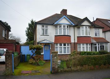 Thumbnail 3 bed semi-detached house for sale in Rosedale Road, Stoneleigh, Surrey