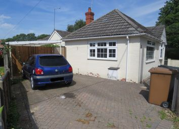 Thumbnail 2 bed semi-detached bungalow for sale in Rownhams Lane, North Baddesley, Southampton