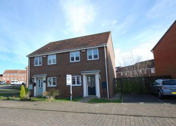 Thumbnail 3 bedroom semi-detached house for sale in Skendleby Drive, Kenton, Newcastle Upon Tyne