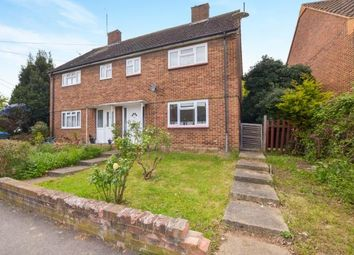 Thumbnail 3 bed semi-detached house for sale in Sanger Avenue, Chessington, Surrey
