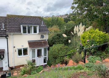 Thumbnail 2 bed end terrace house for sale in Howard Close, Teignmouth