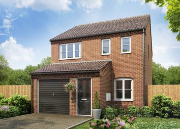"Thumbnail 3 bedroom detached house for sale in ""The Rufford"" at West Hill Road, Retford"