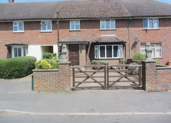 Thumbnail 4 bed terraced house to rent in Oakdene, Chobham