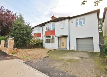 Thumbnail 5 bed semi-detached house to rent in Nelson Road, New Malden