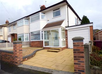 Thumbnail 3 bed semi-detached house for sale in Ruskin Way, Huyton, Liverpool