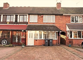 Thumbnail 3 bed terraced house for sale in Hathersage Road, Birmingham