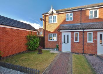 Thumbnail 3 bed semi-detached house for sale in Bonnington Court, Spalding