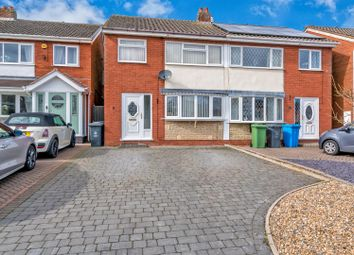 Thumbnail 3 bed semi-detached house for sale in Chestnut Drive, Great Wyrley, Walsall