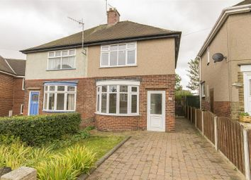 Thumbnail 2 bed semi-detached house for sale in Clarkson Avenue, Boythorpe, Chesterfield