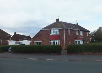 Thumbnail 3 bed semi-detached house for sale in Derwent Road, Scunthorpe