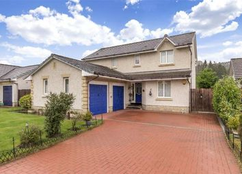 Thumbnail 4 bed detached house for sale in Robinsland Drive, West Linton, Scottish Borders