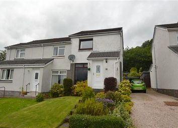 Thumbnail 2 bed semi-detached house for sale in Lochiel Drive, Milton Of Campsie