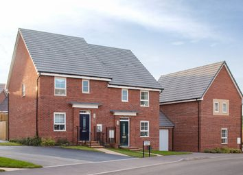 "Thumbnail 3 bedroom semi-detached house for sale in ""Rydon"" at Pinn Lane, Pinhoe, Exeter"