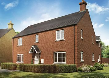 """Thumbnail 4 bed detached house for sale in """"The Longleet"""" at Whitelands Way, Bicester"""
