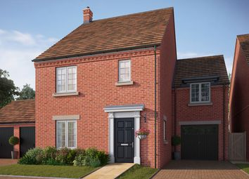 "Thumbnail 4 bedroom detached house for sale in ""The Kensington"" at Central Avenue, Brampton, Huntingdon"
