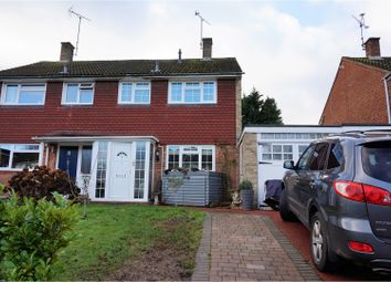 Thumbnail 3 bed semi-detached house for sale in Clifton Road, Wokingham