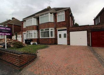 Thumbnail 3 bed semi-detached house for sale in Maidavale Crescent, Coventry