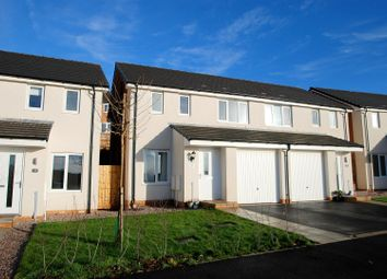 Thumbnail 3 bedroom semi-detached house for sale in Sandpiper Road, Plymouth