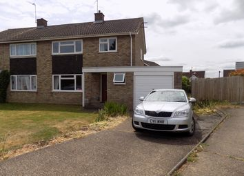Thumbnail 3 bed semi-detached house to rent in Parys Road, Luton, Bedfordshire