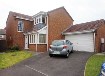 Thumbnail 4 bed detached house for sale in Alexandra Gardens, North Shields