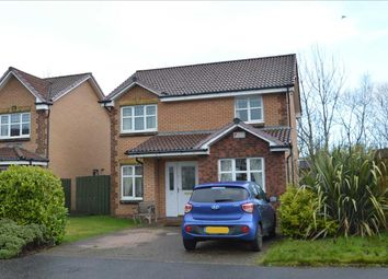 Thumbnail 4 bed detached house for sale in Toftcombs Crescent, Stonehouse, Larkhall