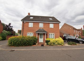 Thumbnail 5 bed detached house for sale in Gatekeeper Close, Wymondham