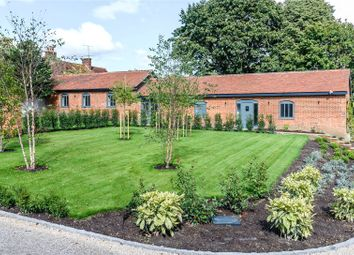 Thumbnail 3 bedroom barn conversion for sale in Manor Farm Barns, The Street, Greywell, Hook