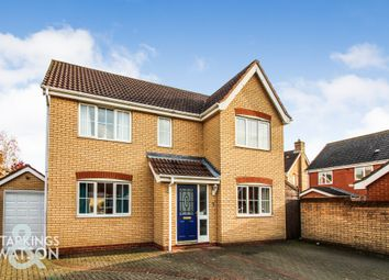 4 bed detached house for sale in Blackthorn Road, Wymondham NR18