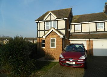 Thumbnail 3 bed end terrace house to rent in Two Mile Drive, Cippenham, Berkshire