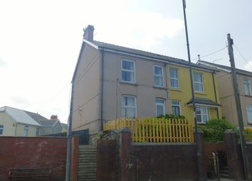 Thumbnail 3 bed semi-detached house for sale in Penybanc Road, Ammanford, Carmarthenshire.