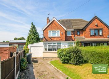 Thumbnail 2 bedroom semi-detached house for sale in Elm Road, Leamore, Walsall
