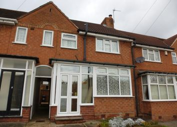 Thumbnail 3 bed terraced house to rent in Ringswood Road, Solihull