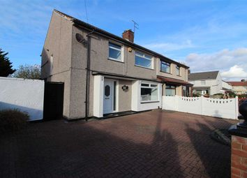 Thumbnail 4 bed semi-detached house for sale in Lapford Crescent, Kirkby, Liverpool