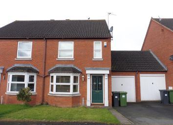 Thumbnail 2 bed semi-detached house to rent in Rosewood Crescent, Leamington Spa