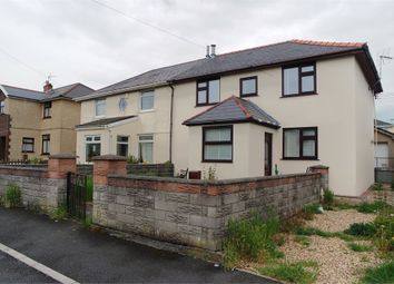 Thumbnail 3 bed semi-detached house for sale in Baiden Avenue, Kenfig Hill, Bridgend