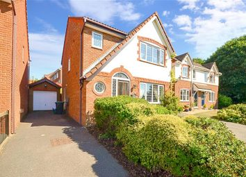 Thumbnail 3 bed detached house for sale in Whiffen Walk, East Malling, West Malling, Kent