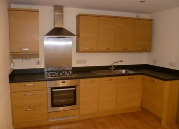 Thumbnail 2 bed flat to rent in De Montfort Close, Church Gresley, Swadlincote