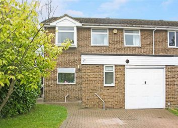 Thumbnail 4 bed semi-detached house for sale in Kelsey Close, Maidenhead, Berkshire