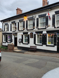 Thumbnail Hotel/guest house for sale in Church Street, Malpas, Chester