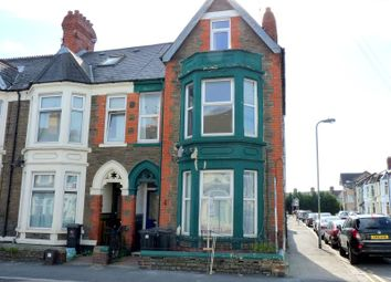 Thumbnail 5 bedroom end terrace house to rent in Mackintosh Place, Roath, Cardiff